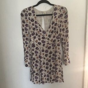 Free People lilac flower dress